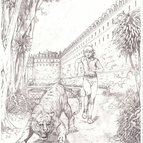 MARTIN Corentin. Volume 8: Les trois perles de Sa Skya. Deluxe edition 300 copie…