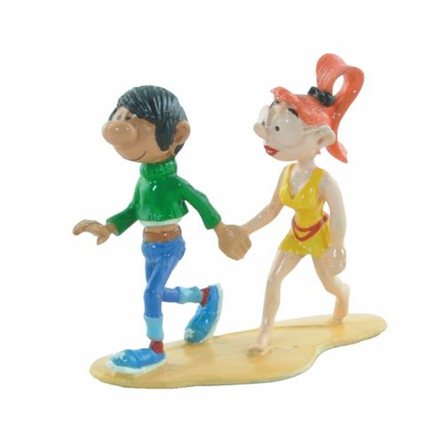 FRANQUIN Gaston. Created by Pixi (1989). Gaston and Mademoiselle Jeanne. Referen…