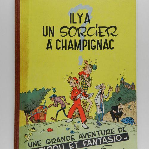 FRANQUIN Spirou et Fantasio. Volume 2: Il y a un sorcier à Champignac. Eo belge …