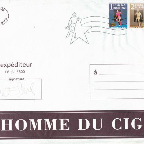 MOEBIUS Moebius. Portfolio L'homme du Ciguri. Tirage 300 ex. N°/S. Comporte 93 p…