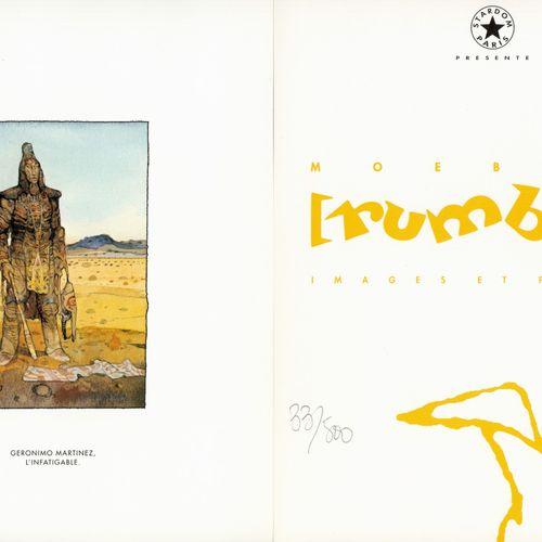 MOEBIUS Moebius. Portfolio Rumbas, images et poèmes. Tirage 500 ex. N°/S. Compor…
