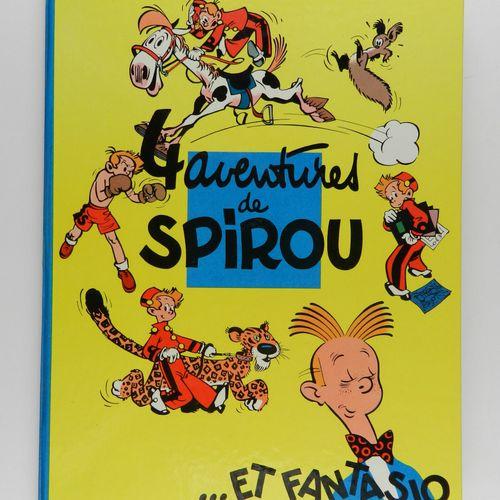 FRANQUIN Spirou et Fantasio. Volume 1: 4 aventures de Spirou. Edition de 1966 (D…