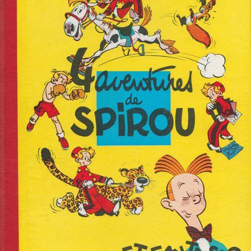 FRANQUIN Spirou et Fantasio. Volume 1: 4 aventures de Spirou. Edition de 1955 (D…
