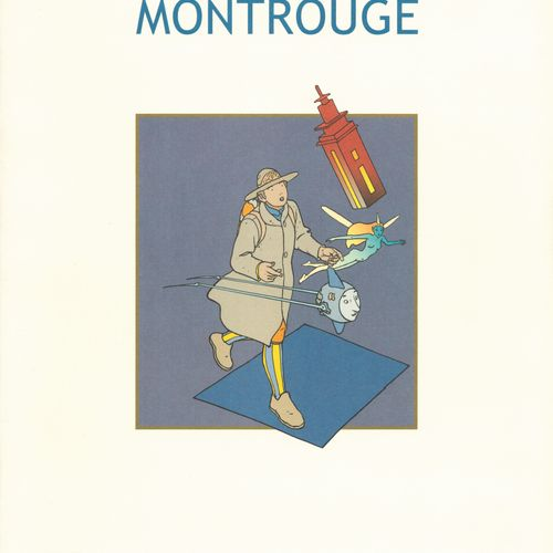 MOEBIUS Moebius. Portfolio Mystère Montrouge. Tirage 1000 ex. Réalisés à l'occas…