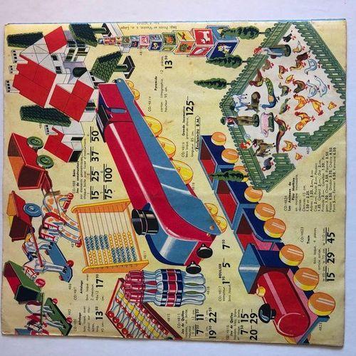 JACOBS Catalogue de jouets Au bon marché Superbe catalogue de jouets édité fin d…