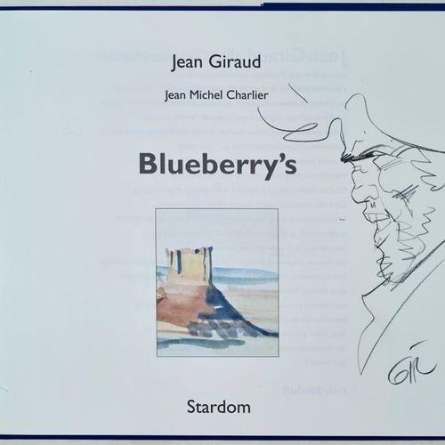 GIRAUD Dédicace Blueberry's, Tirage de tête cartonné avec jaquette de 1997 paru …