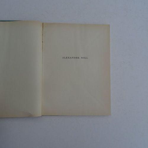 """Alexandre Noll"", R. Moutard Uldry; Ed. Pierre Cailler, editor, 1954, 80 p. (tea…"
