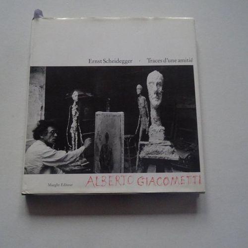 """""""Alberto Giacometti: Trace d'une amitié"""", Ernst Scheidegger; Ed. Maeght, 1991, 1…"""