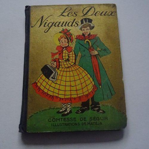 """""""Les deux nigauds"""", Comtesse de Ségur; Ed. René Touret, undated, 144 p. (bad con…"""