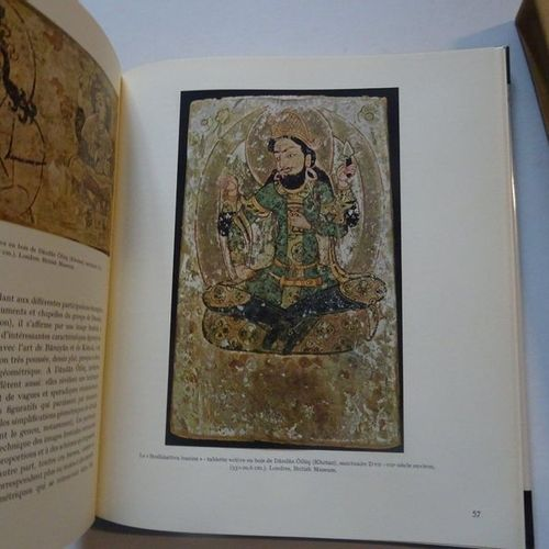 """The Treasures of Central Asia: Painting in Central Asia"", Mario Bussagli; Ed. S…"