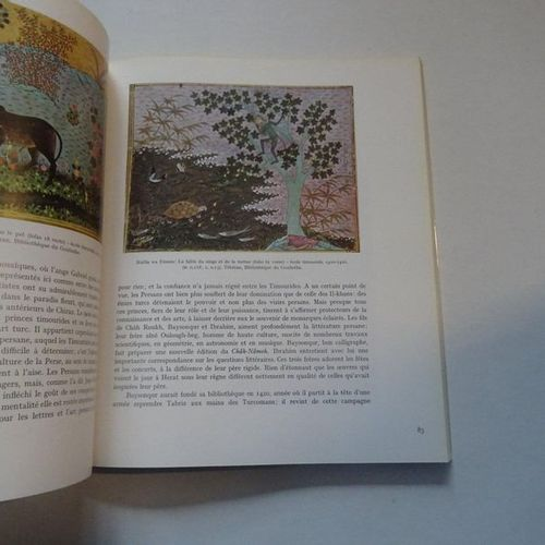 """La peinture Persane,"" Basil Gray; Skira, Ed. 1977, 190 p. (condition of use)"