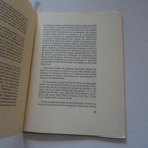 """""""Déclaration du colonel Bastien Thiry"""", Colonel Bastien Thiry; Ed. Editions du f…"""