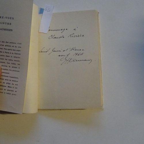 """""""Le rendez vous du labyrinthe"""", E. Haumesser; Ed. La tour de feu, 1958, 48 p. (c…"""