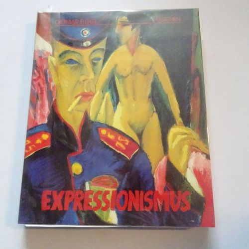 """Expressionismus,"" Dietmar Elger; Taschen, Ed. 1988, 260 p. (state of use)"