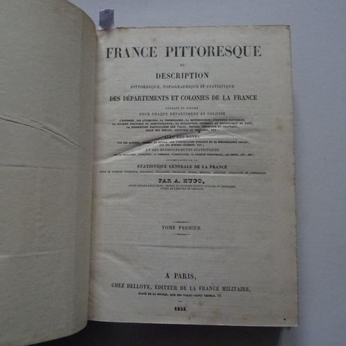 """La France Pittoresque"", [volume 1 2 3], Collective work under the direction of …"