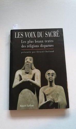 """""""Les voix du sacré : Les plus beaux textes des religions disparues,"""" Œuvre sous …"""