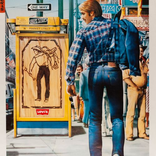 TOUCHE Claude. Levi's Quality never goes out of style. Offset poster. Not covere…