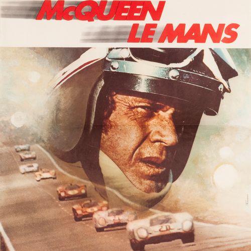 Steve McQueen Le Mans. Lee H. Katzin and John Sturges. René Ferracci. 1971. Offs…