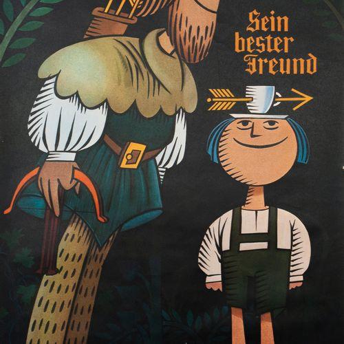 ZINAYJ. 4 posters advertising Brazilian coffee. His best friend. Sein Bester Fre…