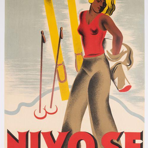 "KAMA (MACHATSCHECK Karl says). Nivose the ""chic"" clothing of the real ""skier"". M…"