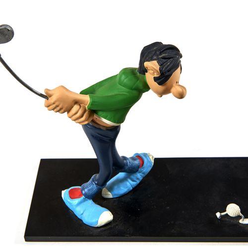 Gaston Golfeur Leblon Delienne: Figurine représentant Gaston un club de golf à …