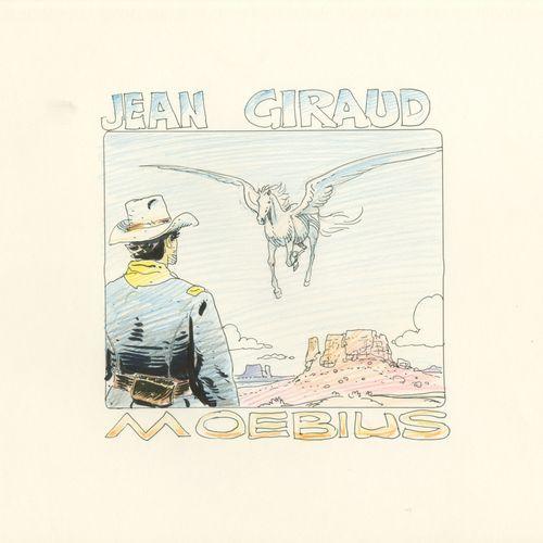 Jean GIRAUD/MOEBIUS (1938 2012) Technique mixte sur papier pour un dessin inédit…