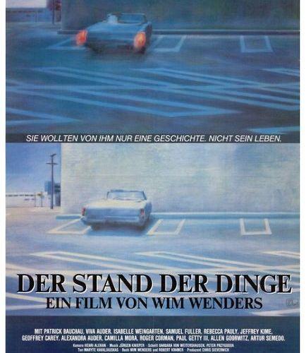 Der Stand der Dinge / L'état des choses, Wim Wenders, 1982 Affiche allemande ill…