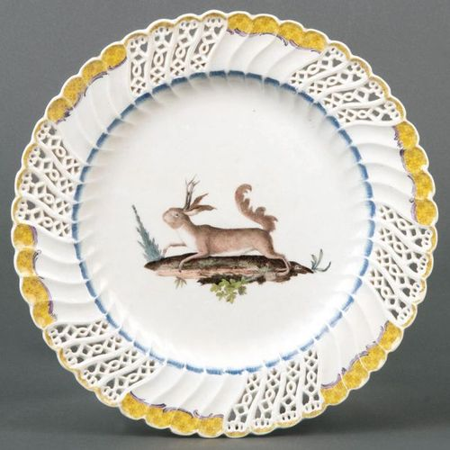 Dessert plate from the Japanese service for Frederick the Great Meissen 1760 Rou…