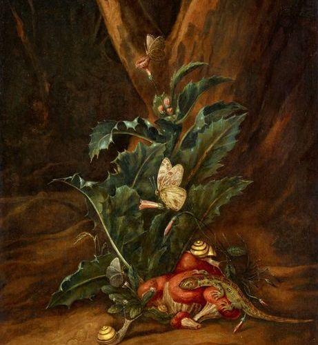 Monogrammed lower centre: C.W.D.H.  Carl Wilhelm de Hamilton was court painter t…