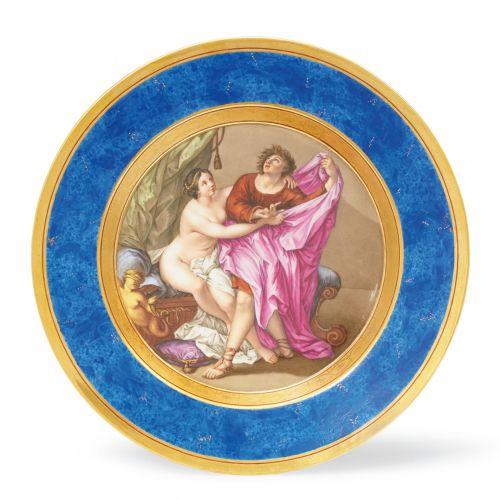 """Königliche Porzellanmanufaktur Berlin KPM Teller """"Die Keuschheit des Joseph"""" nac…"""