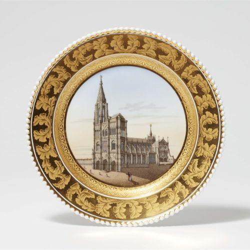 Königliche Porzellanmanufaktur Berlin KPM Dessertteller aus dem Hochzeitsservice…