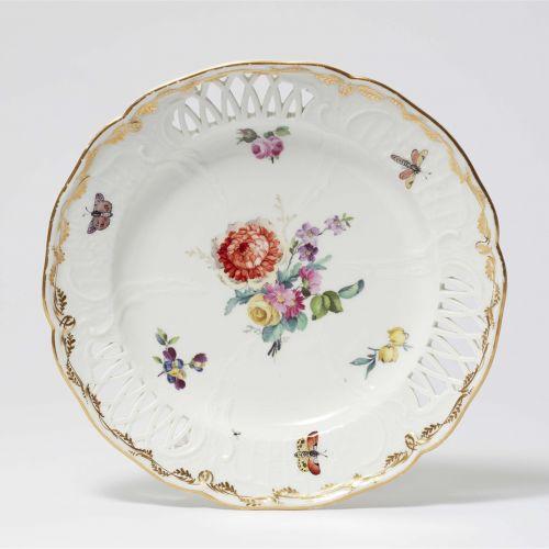 Königliche Porzellanmanufaktur Berlin KPM Dessertteller aus dem Service für das …