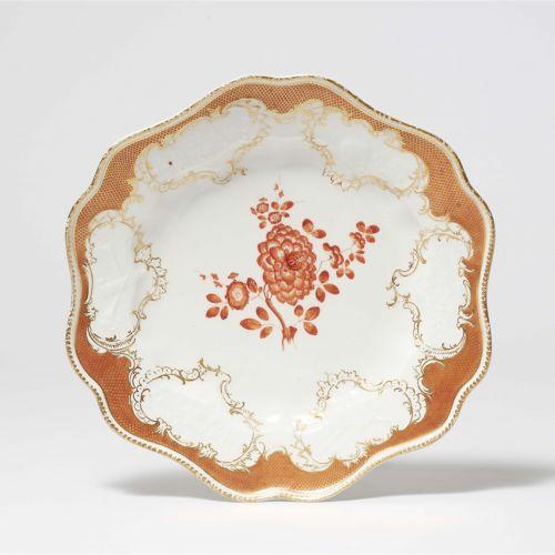Meissen Königliche Porzellanmanufaktur Speiseteller aus dem Tafelservice mit dem…