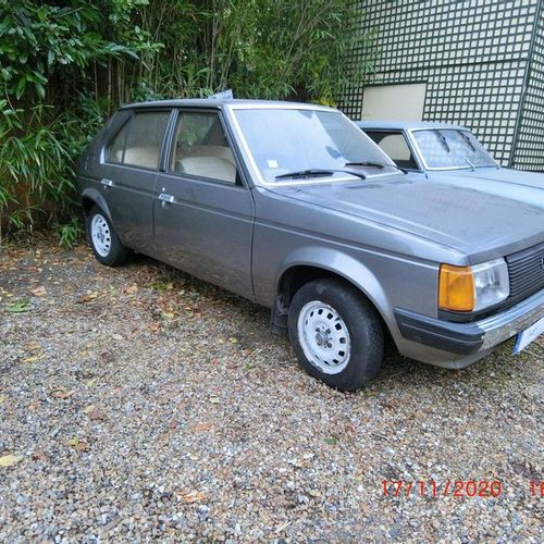 Simca Chrysler Horizon LS, first put into circulation on 22 May 1978, 6cv fiscal…