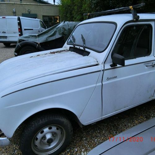 """Renault 4 called """"4L"""", Savane finish, first put into service on July 5, 1989, 4c…"""