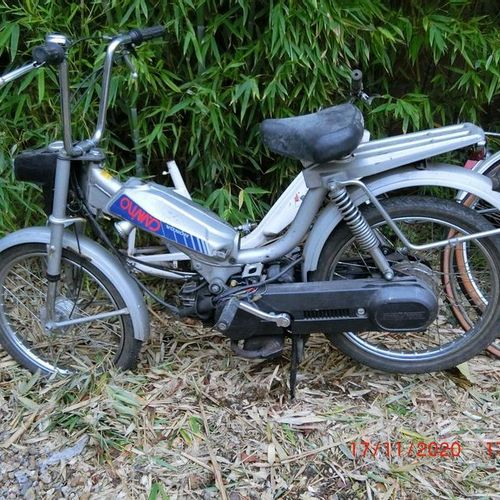Honda PA 50 Camino, moped, delivered new in Paris on May 19, 1976, 49.9cc.  Seri…