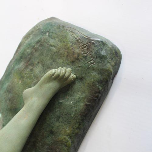 Ugo CIPRIANI Ugo CIPRIANI (1887 1960) Sculpture young woman lying down Terracott…