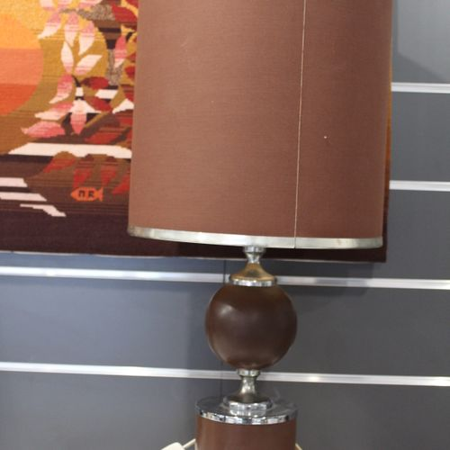 Vintage lamp from the 70's Height 73 cm