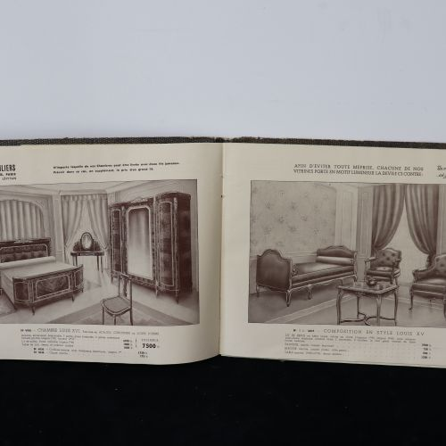 A set of 2 vintage catalogues : LEVITAN PARIS MOBILIERS Subsidiary of Ets LEVITA…