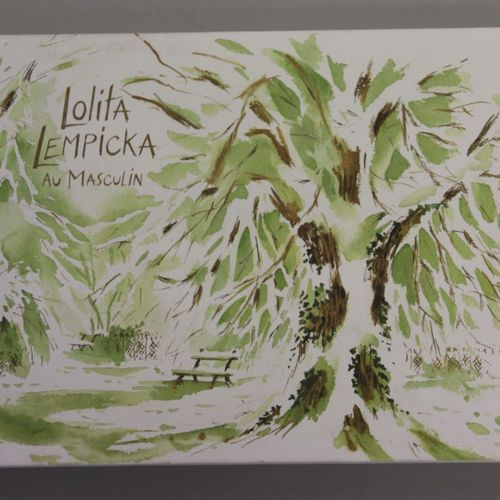 "Lolita Lempicka ""Au masculin"".  Illustrated fancy box containing a 100ml bottle …"