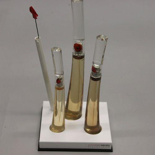 "Kenzo ""Flower""  Luxury box containing three bottles designed by Serge Mansau, co…"
