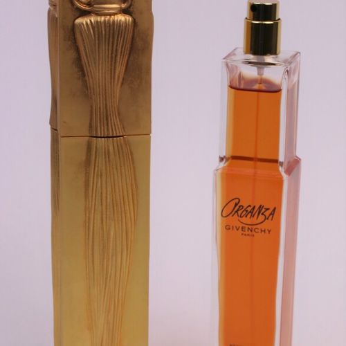 """Givenchy """"Organza"""" (1998)  Spray bottle designed by Serge Mansau containing 75ml…"""