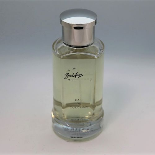 "Hugo Boss ""Baldessarini""  Bottle containing 75ml of cologne for men."