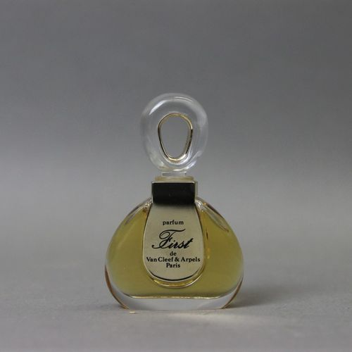 "Van Cleef and Arpels ""First"" (1976)  7ml bottle of extract in its box."