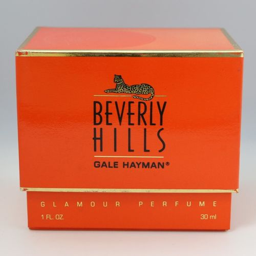 """Gale Hayman """"Glamour""""  Panther bottle containing 30ml of extract."""