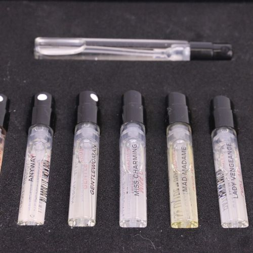 """Juliette has a Gun """"not a perfume"""" (years 2010)  Titrated box containing 7 mini …"""