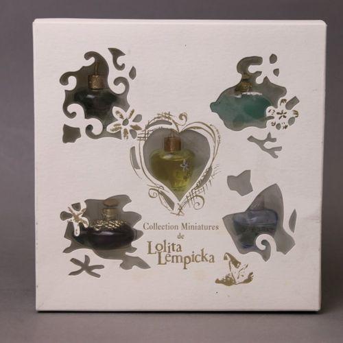 Lolita Lempicka (years 2000)  Illustrated cardboard box containing five figurati…