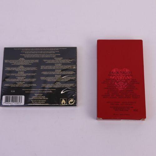 L'Artisan Parfumeur & Alexander Mac Queen (years 2010)  Set comprising a box of …