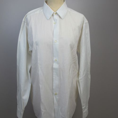 Three men's shirts by Ted Lapidus, Courrège and Pierre Cardin  Size 3 39 40  (Co…