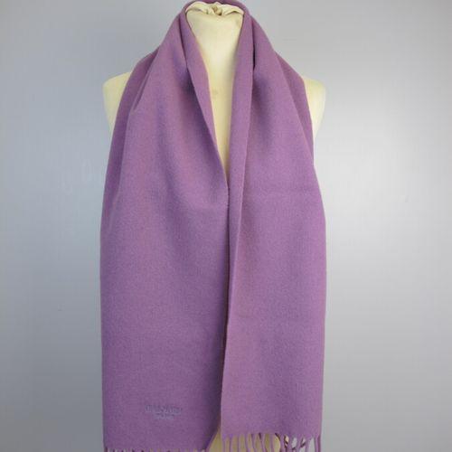 BALMAIN Paris  Purple wool scarf  140 x 29 cm  PIACENZA  Cashmere and silk scarf…